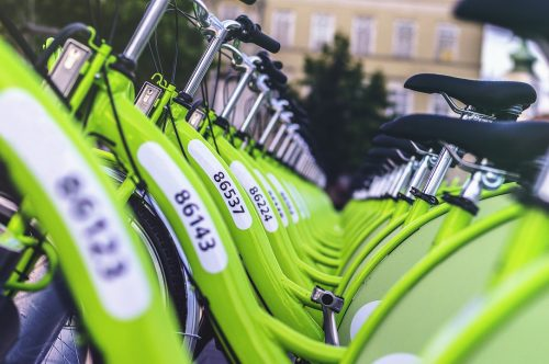 Town's public bicycle scheme is a great way to travel around the city