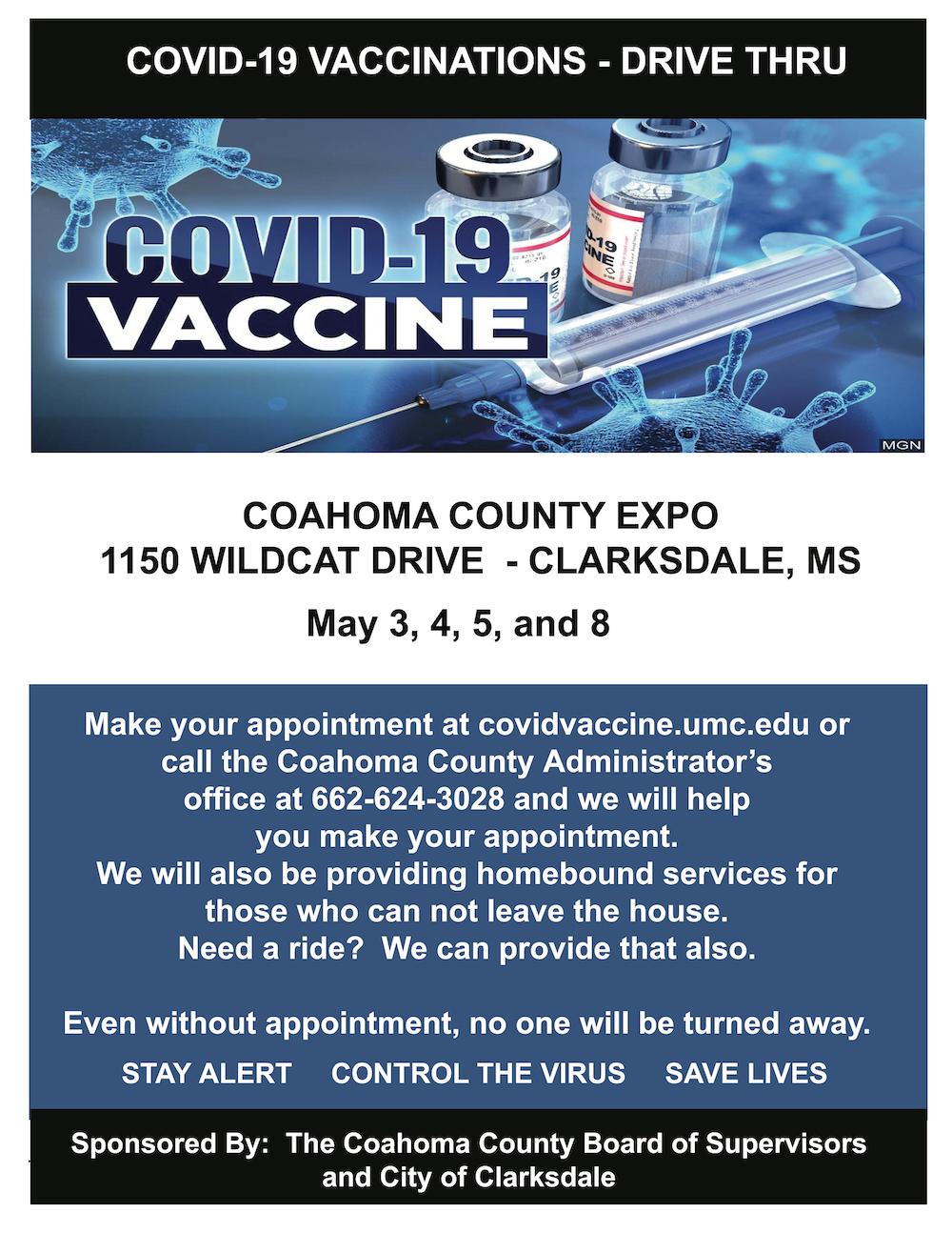COVID-19 Drive Thru Vaccine